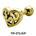 Hearts Helix Ear Piercing TIP-272
