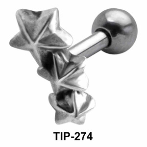 Tristar Shaped Helix Piercing TIP-274