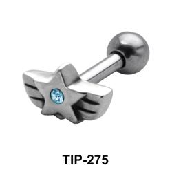 Star Stone Helix Ear Piercing TIP-275
