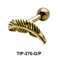 Leaf Helix Ear Piercing TIP-276
