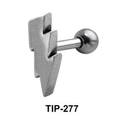 Lightening Shaped Helix Piercing TIP-277