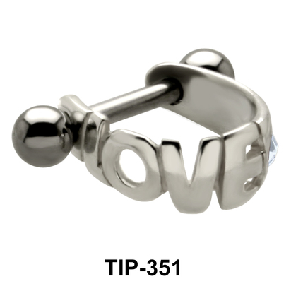 Love Dangler Upper Ear Cartilage Mini Shields TIP-351