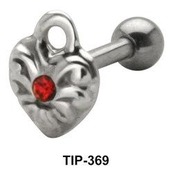 Heart Shaped helix Ear Piercing TIP-369