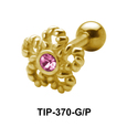 Ropy Flower Helix Ear Piercing TIP-370