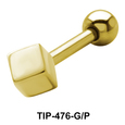 Solid Square Shaped Helix Piercing TIP-476