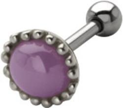 Milky Stone Ear Piercing TIP-482