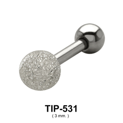 Crystal Set Helix Piercing TIP-531-3mm.