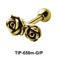 Rose Helix Ear Piercing TIP-658m