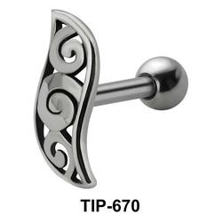 Helix Ear Piercing TIP-670