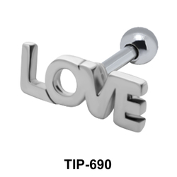 Love Shaped Helix Piercing TIP-690