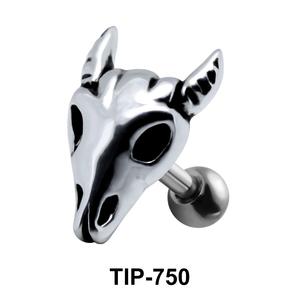 Deer Skull Shaped Helix Piercing TIP-750