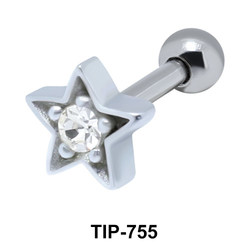 Star Helix Ear Piercing TIP-755