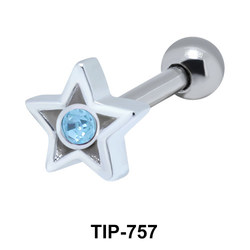 Star Helix Ear Piercing TIP-757