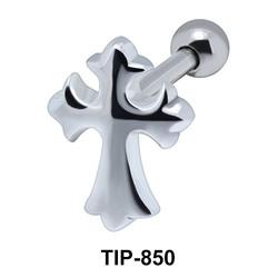 Cross Helix Ear Piercing TIP-850