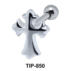 Cross Helix Ear Piercing TIP-850
