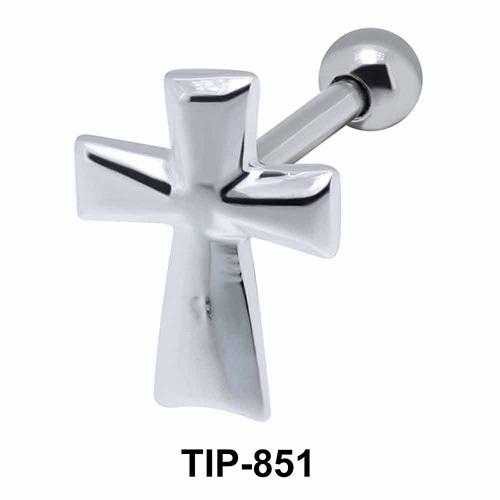 Cross Helix Ear Piercing TIP-851