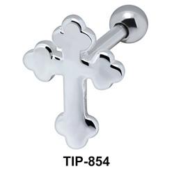 Cross Upper Ear Piercing TIP-854