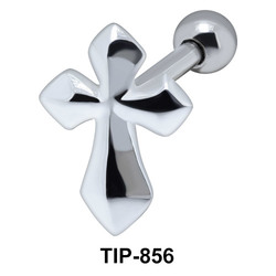 Cross Helix Ear Piercing TIP-856