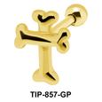 Cross Helix Ear Piercing TIP-857