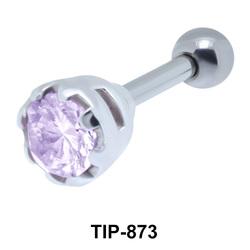 Round Stone Upper Ear Piercing TIP-873