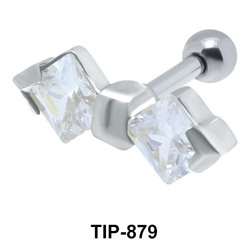 Bow Helix Ear Piercing TIP-879