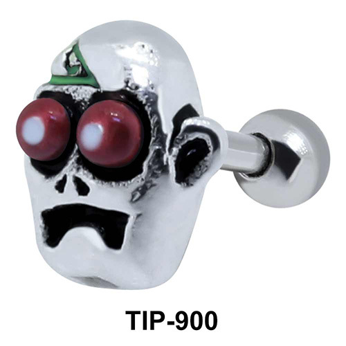 Zombie Shaped Helix Piercing TIP-900