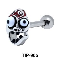 Zombie Shaped Helix Piercing TIP-905