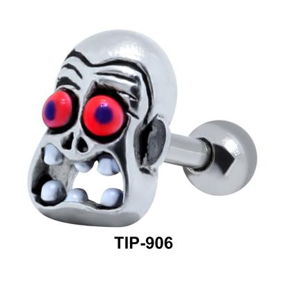 Funny Zombie Upper Ear Piercing TIP-906
