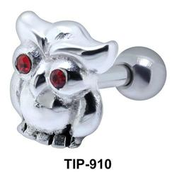 Owl Shaped Helix Piercing TIP-910