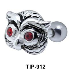 Owl Shaped Helix Piercing TIP-912