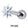 Floral Silver Upper Ear Piercing  TIP-929