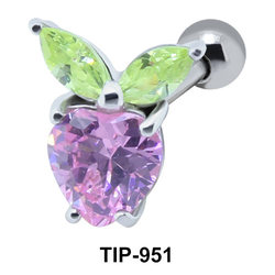 Purple Stone Sweet Fruit Upper Ear TIP-951