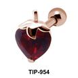 Apple Sweet Fruit Upper Ear Piercing TIP-954