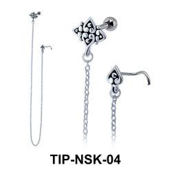 Helix Ear Nose Stud TIP-NSK-04