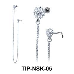 Helix Ear Nose Stud TIP-NSK-05