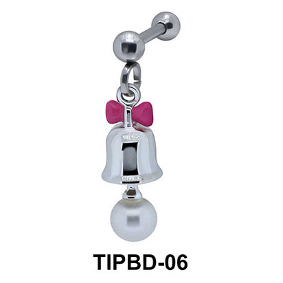 Bell Shaped Upper Ear Dangling Charms TIPBD-06