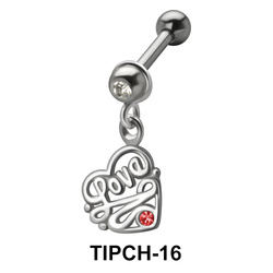 Love Dangling Upper Ear Charms TIPCH-16