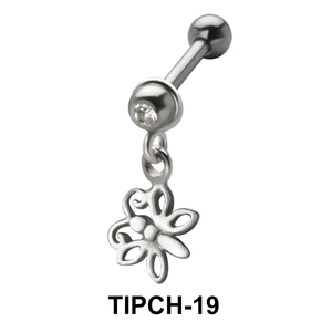 Stone Set Butterfly Shaped Upper Ear Charms TIPCH-19