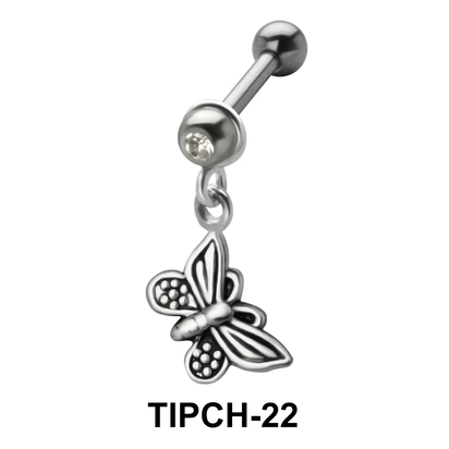 Butterfly Shaped Upper Ear Charms TIPCH-22