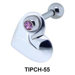 Heart Dangling Helix Ear TIPCH-55