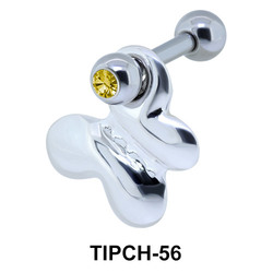 Jaw Shaped Dangling Helix Ear TIPCH-56