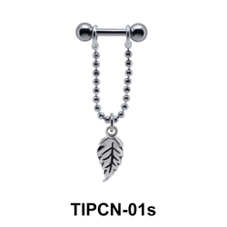 Dangling Leaf Upper Ear Piercing TIPCN-01s