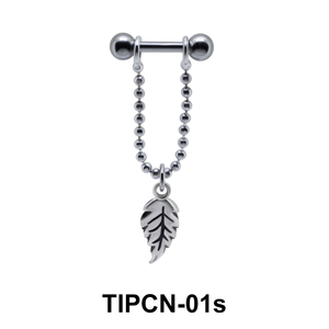 Dangling Leaf Upper Ear Piercing TIPCN-01s