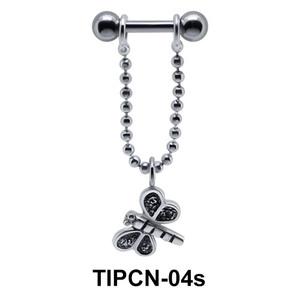 Dangling Butterfly Upper Ear Piercing TIPCN-04s