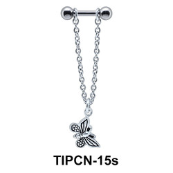 Butterfly Dangling Helix Chain TIPCN-15s