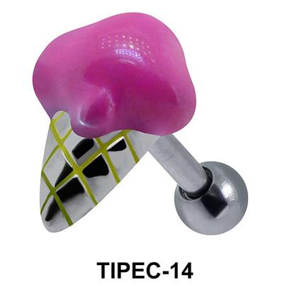 Ice Cream Shaped Helix enamel TIPEC-14
