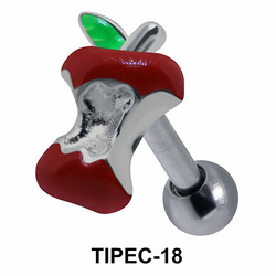 Eaten Apple Shaped Helix Enamel TIPEC-18