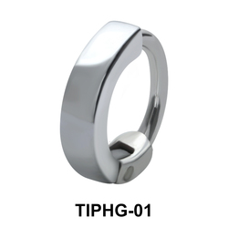 Simple Upper Ear Design Rings TIPHG-01