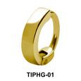 Simple Upper Ear Design Rings TIPHG-01