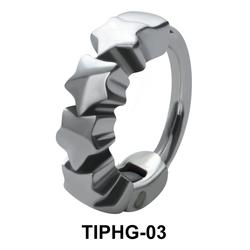 Stars Shaped Upper Ear Design Rings TIPHG-03